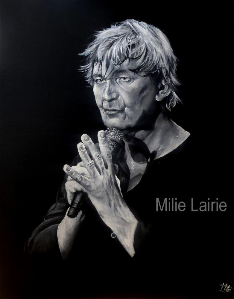 Jacques Higelin by Milie